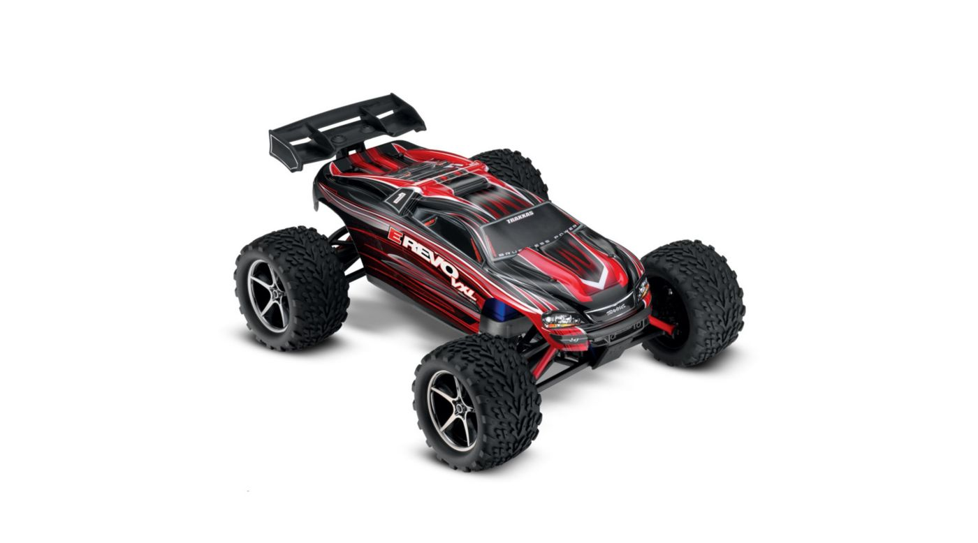 1 16 E Revo 4wd Vxl Rtr With Tqi 24ghz Radio Red Horizonhobby 3 Wire Harness Image For
