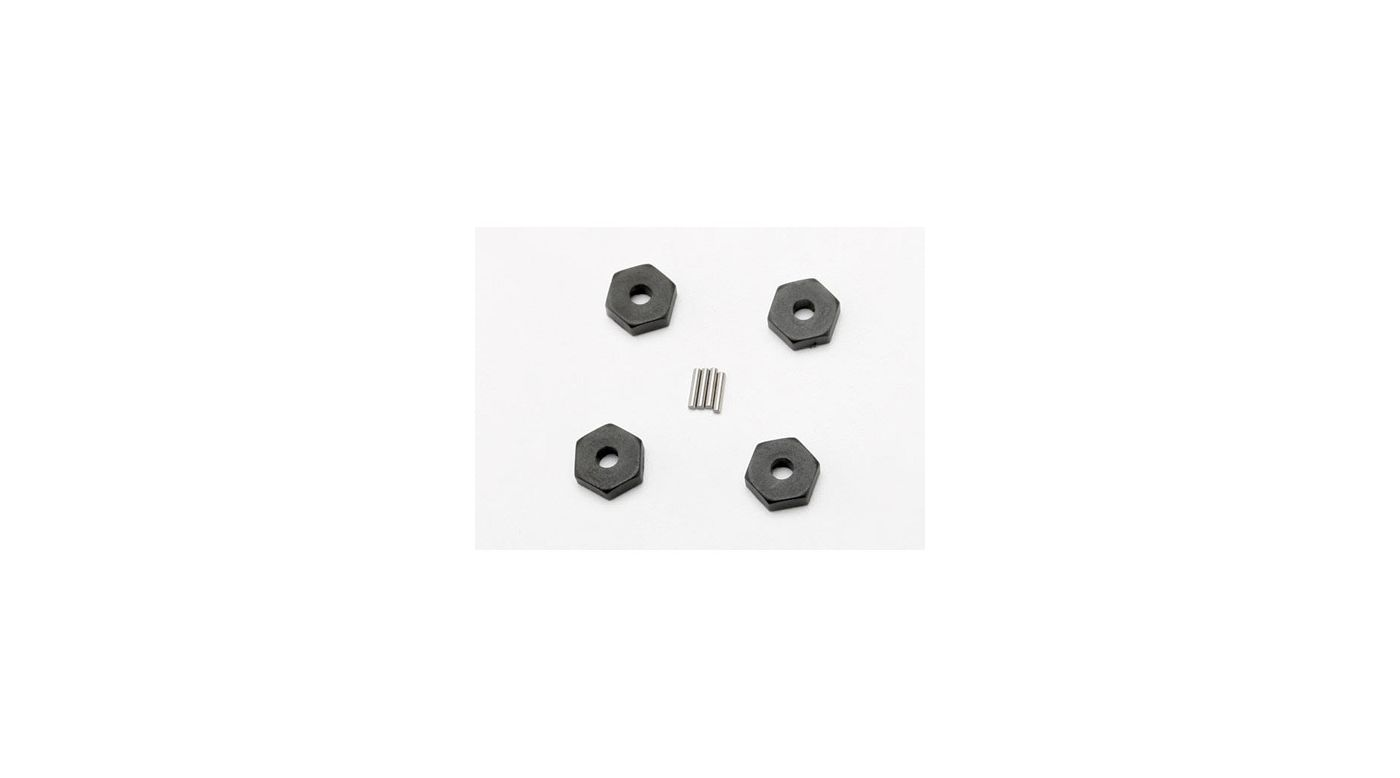 Image for Hex Wheel Hubs (4) : 1/16 SLH, ERV from HorizonHobby