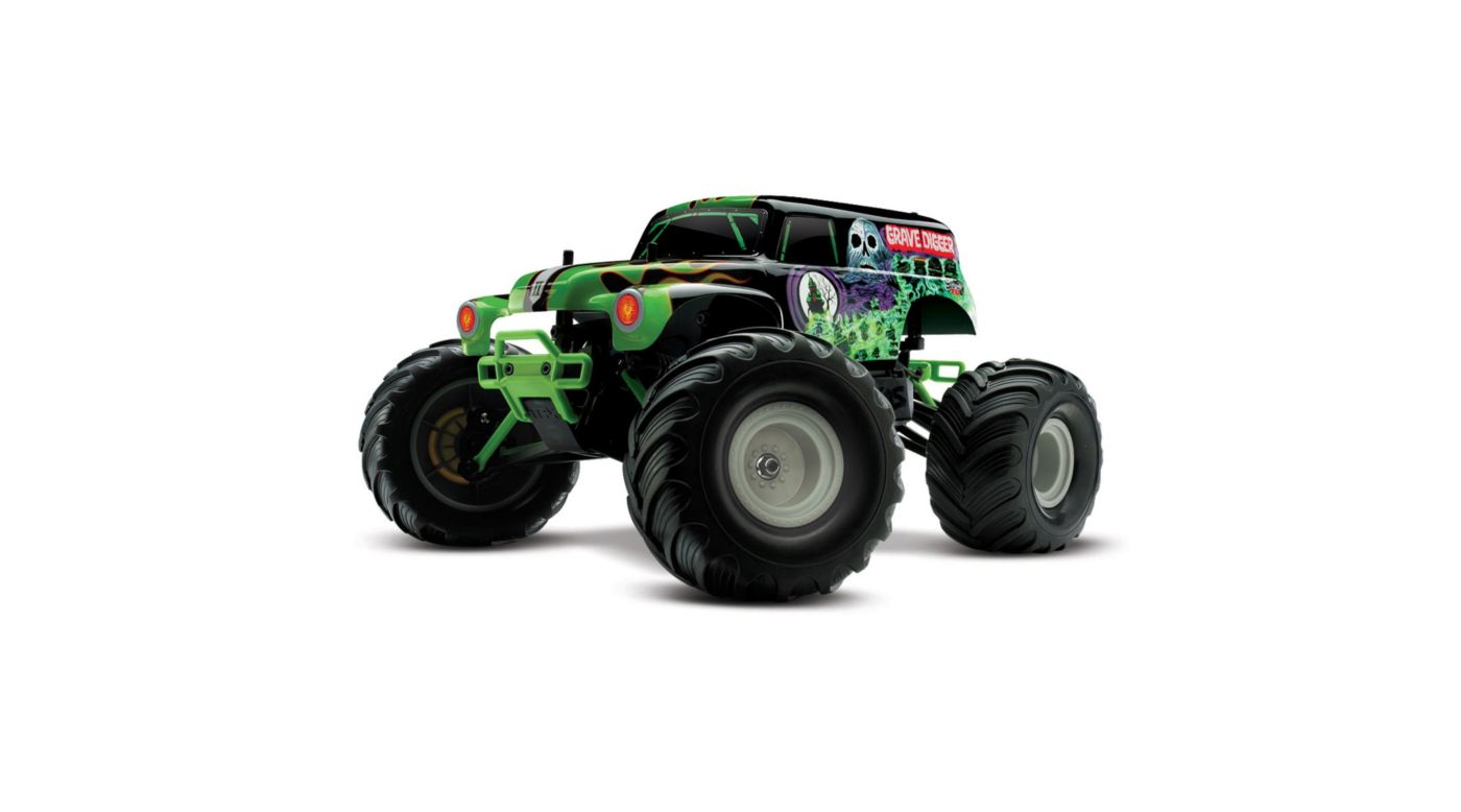 Image for 1/16 Grave Digger 2WD TQ 2.4GHz RTR, with Backpack from HorizonHobby