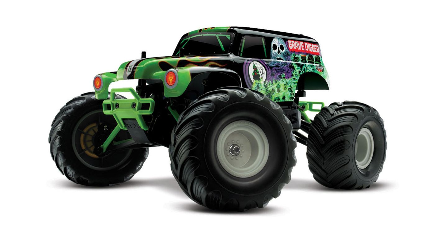 Image for 1/16 Grave Digger 2WD Monster Truck RTR w/Backpack from HorizonHobby
