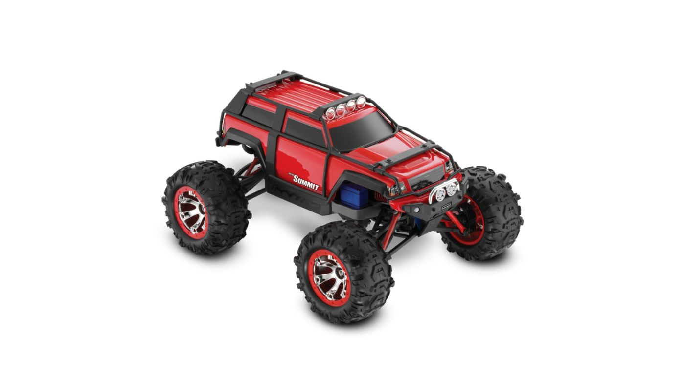 Image for 1/16 Summit 4WD w/ AM Radio  Red from HorizonHobby
