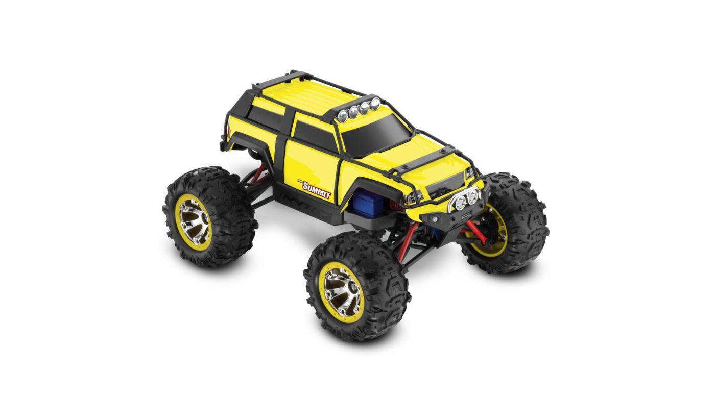 Image for 1/16 Summit 4WD RTR with AM Radio Yellow from HorizonHobby