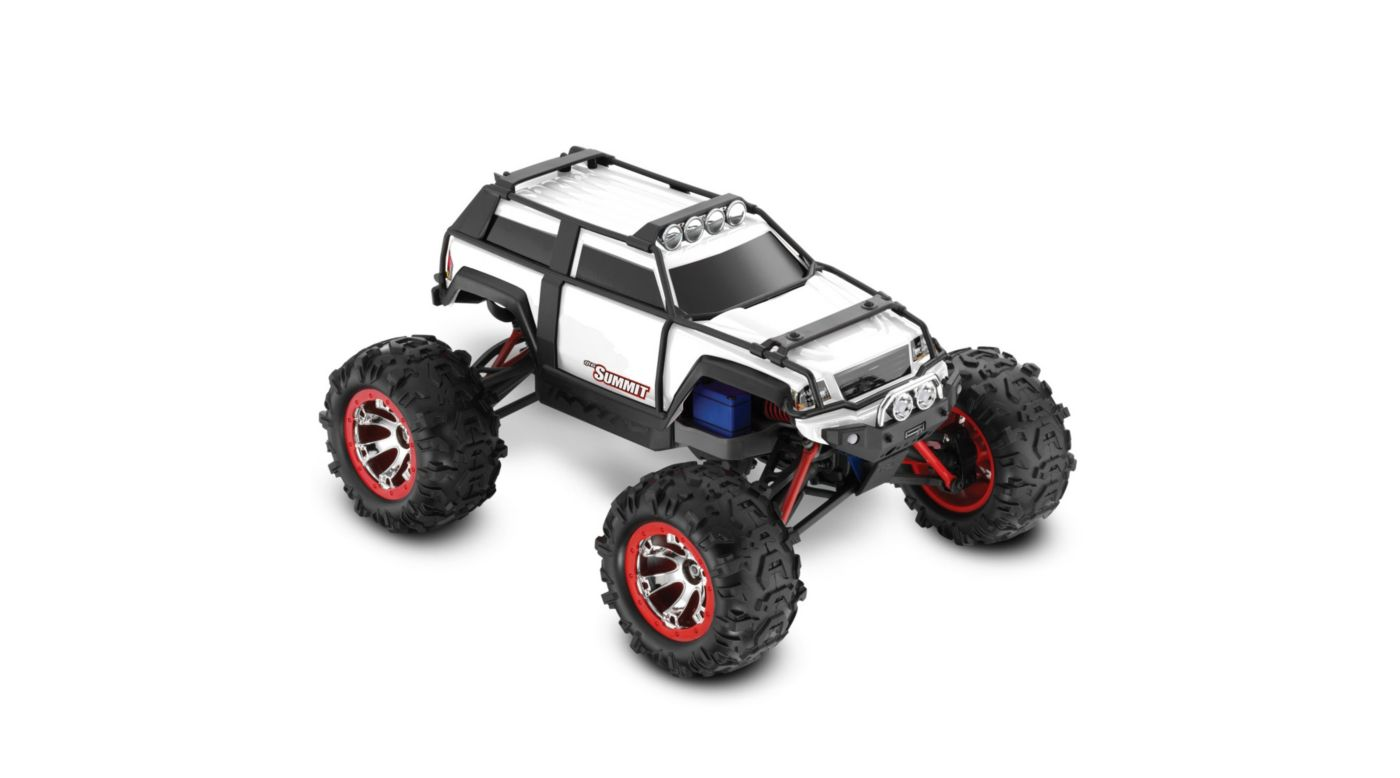 Image for 1/16 Summit 4WD RTR with AM Radio  White from HorizonHobby