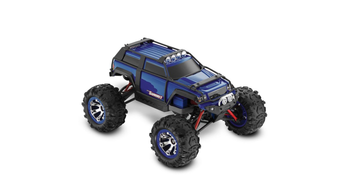 Image for 1/16 Summit 4WD RTR w/  AM Radio  Blue from HorizonHobby