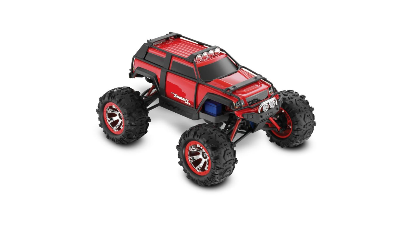 Image for 1/16 Summit VXL 4WD RTR with TQ 2.4GHz Radio, Red from HorizonHobby