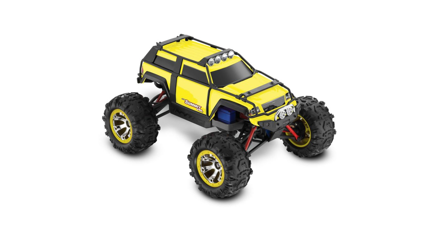 Image for 1/16 Summit VXL 4WD RTR with TQ 2.4GHz Radio, Yellow from HorizonHobby