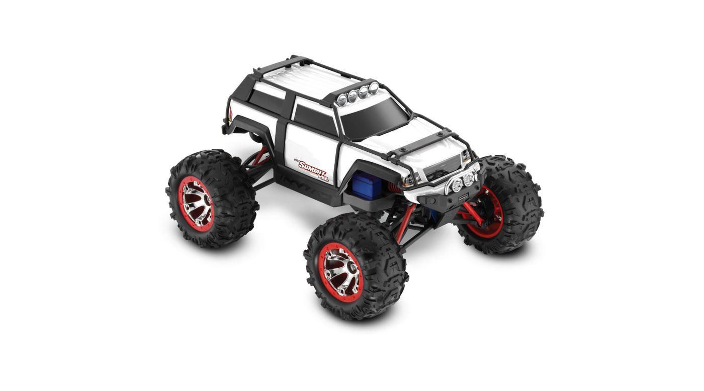 Image for 1/16 Summit VXL 4WD RTR with TQ 2.4GHz Radio, White from HorizonHobby