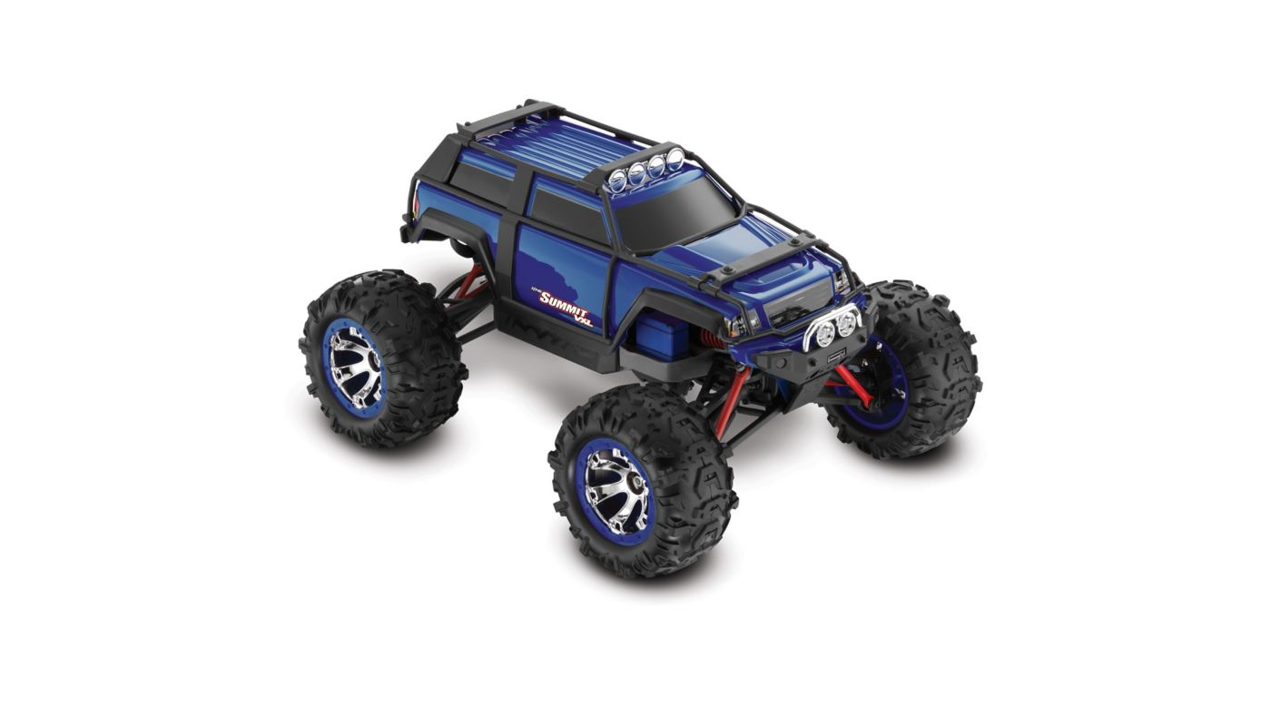 Image for 1/16 Summit VXL 4WD RTR with TQ 2.4GHz Radio, Blue from HorizonHobby
