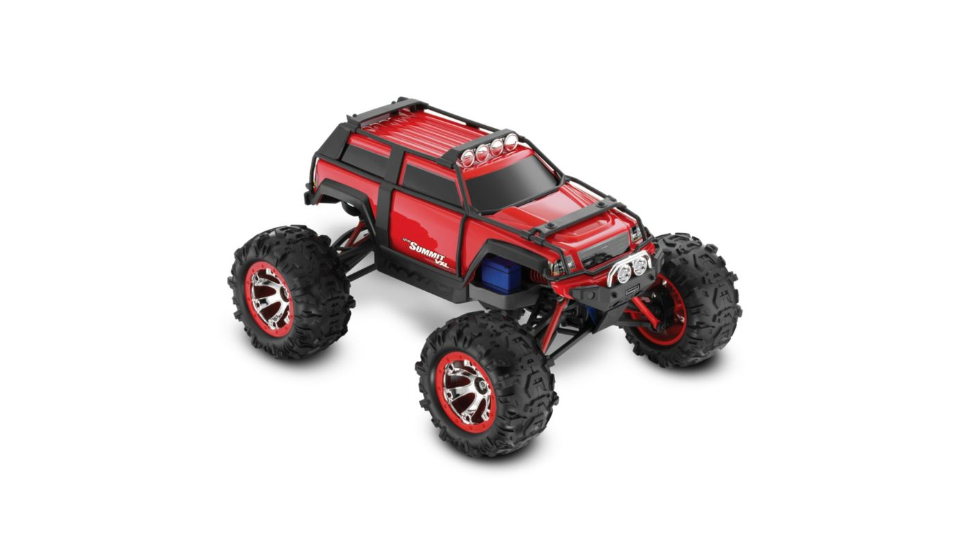 Image for 1/16 Summit VXl 4WD RTR w/ TQi 2.4 Radio  Red from HorizonHobby