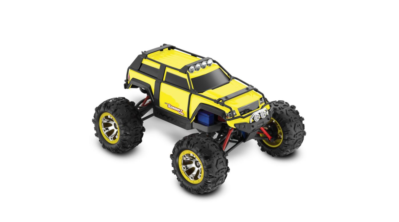 Image for 1/16 Summit VXL 4WD RTR with TQi 2.4 Radio  Yellow from HorizonHobby