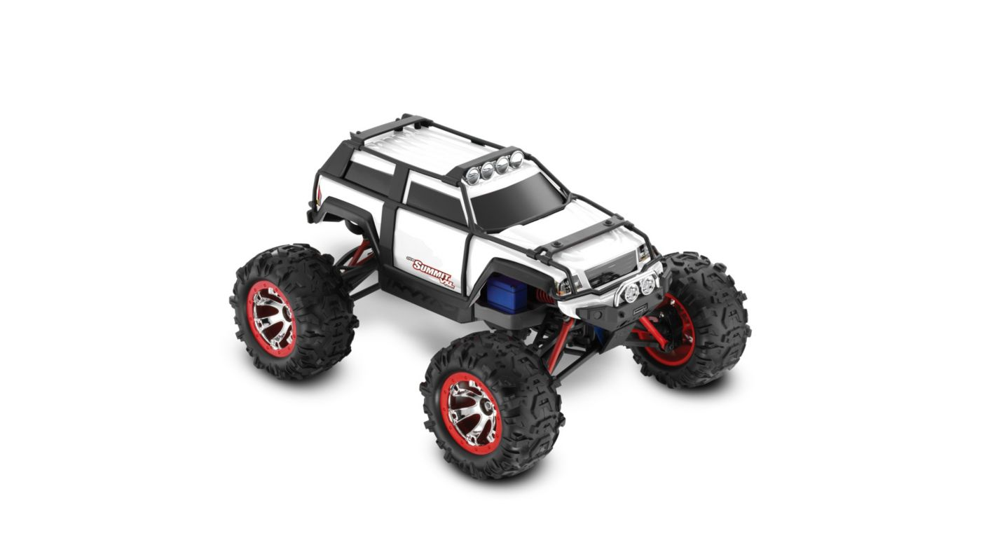 Image for 1/16 Summit VXL 4WD RTR with TQi 2.4 Radio  White from HorizonHobby