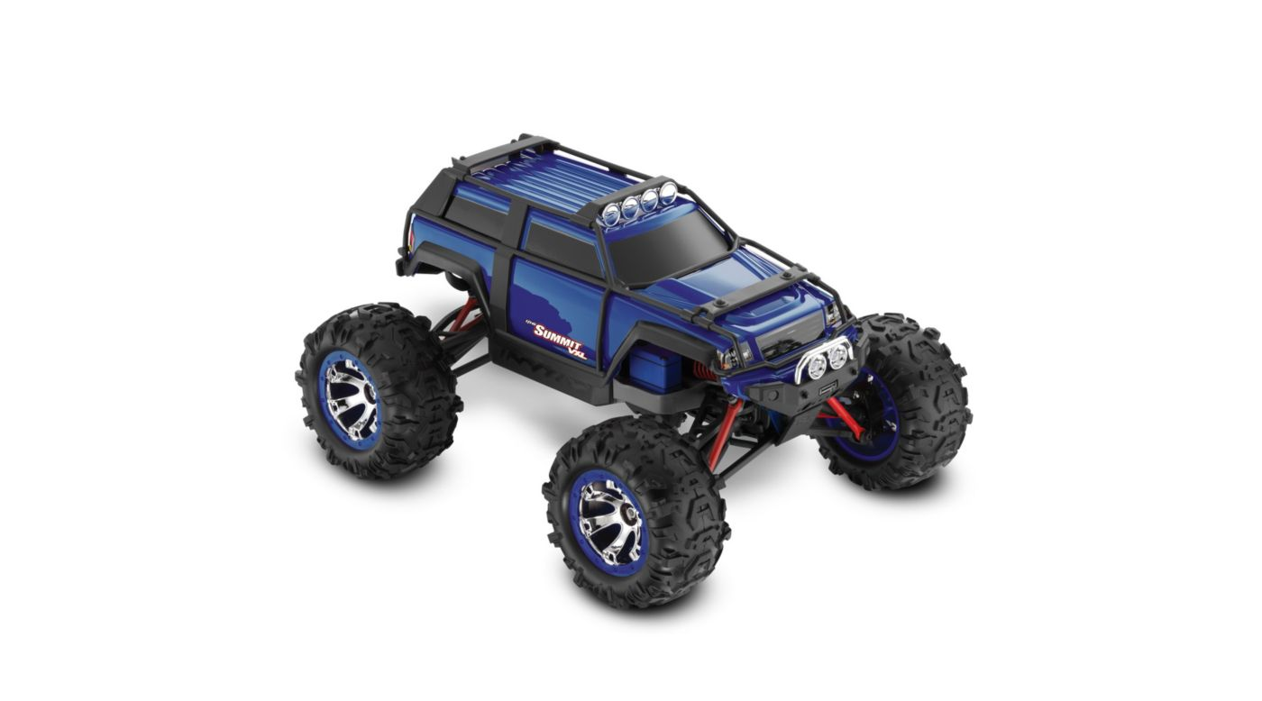 Image for 1/16 Summit sVXL 4WD RTR with TQi 2.4 Radio  Blue from HorizonHobby