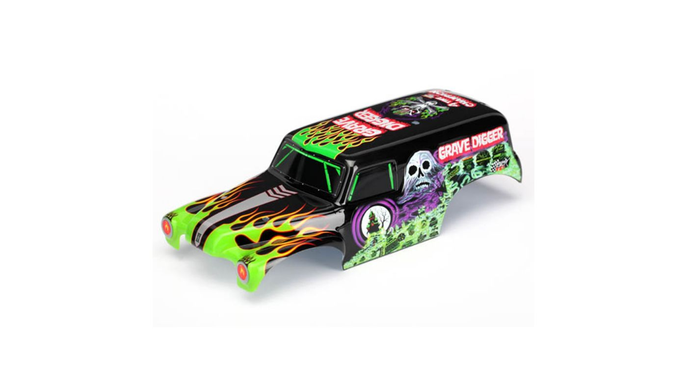 Image for Painted Body: 1/16 Grave Digger TRA7202A from HorizonHobby
