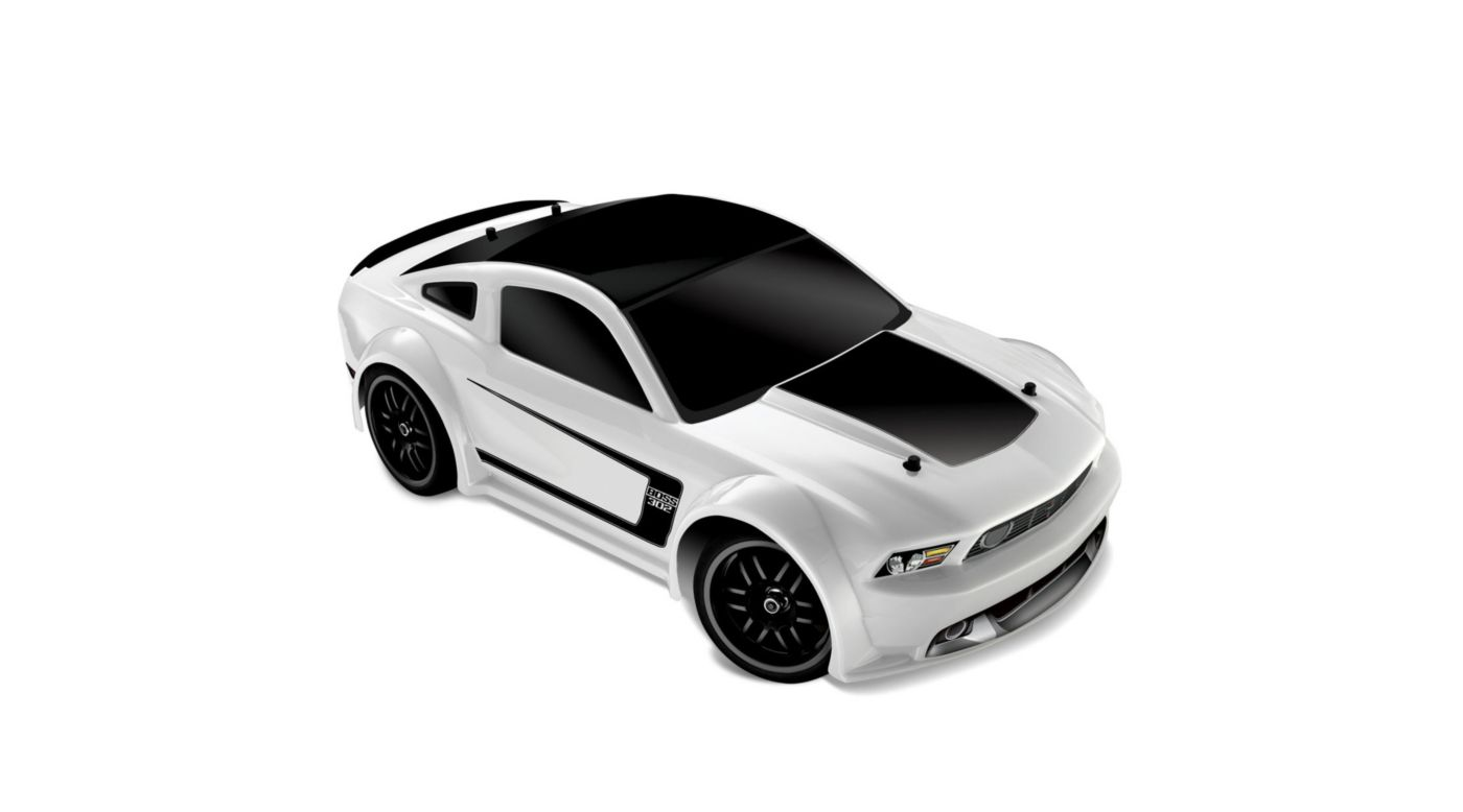 Image for 1/16 Ford Mustang Boss 302 4WD RTR  White from HorizonHobby