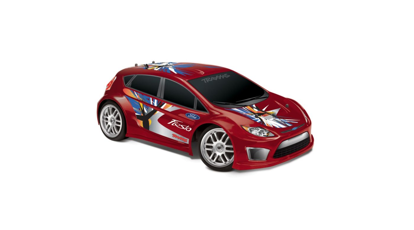 Image for 1/16 Ford Fiesta w/ 2-Ch Radio  Red from HorizonHobby