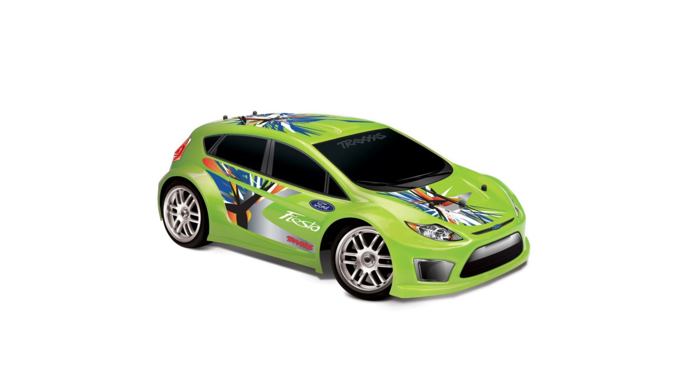 Image for 1/16 Ford Fiesta 4WD RTR w/ AM 2-Ch Radio  Green from HorizonHobby