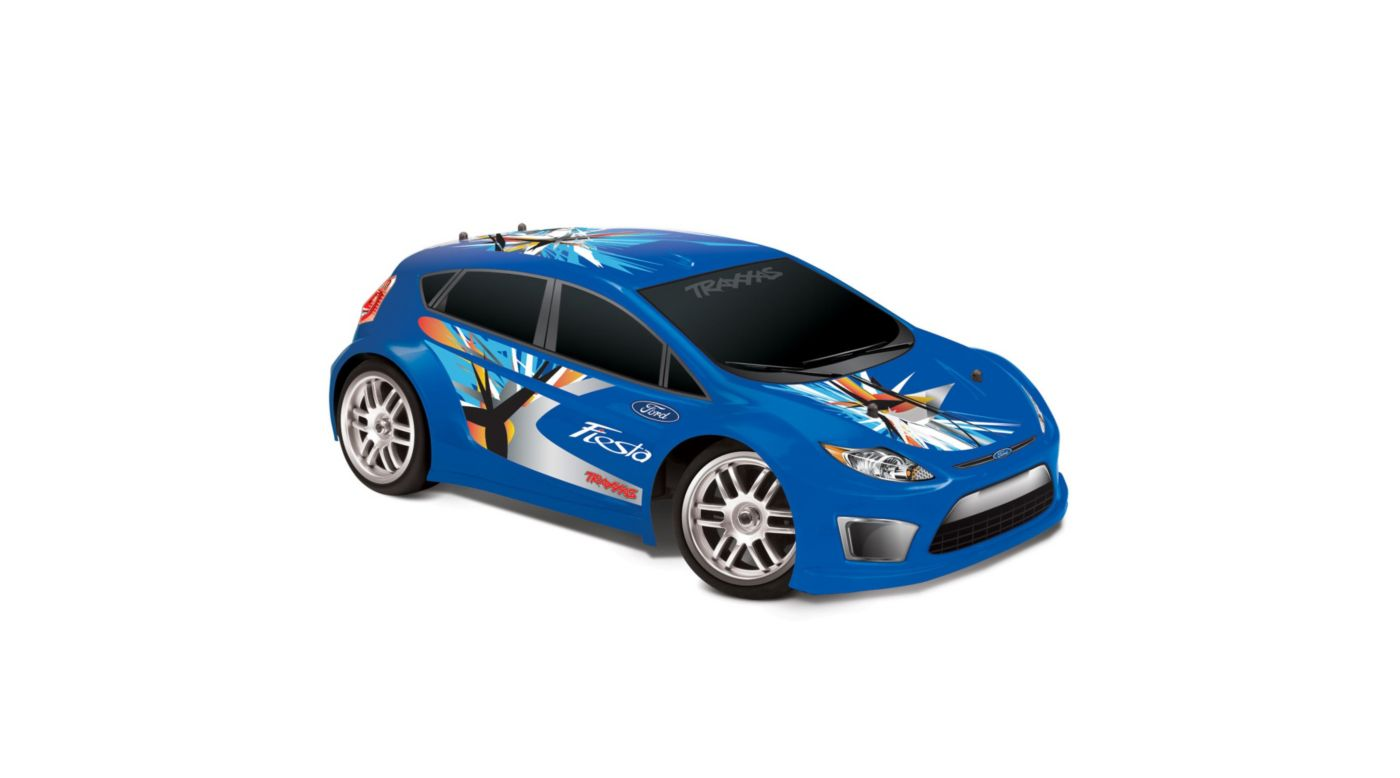 Image for 1/16 Ford Fiesta 4WD RTR w/ AM 2-Ch Radio  Blue from HorizonHobby