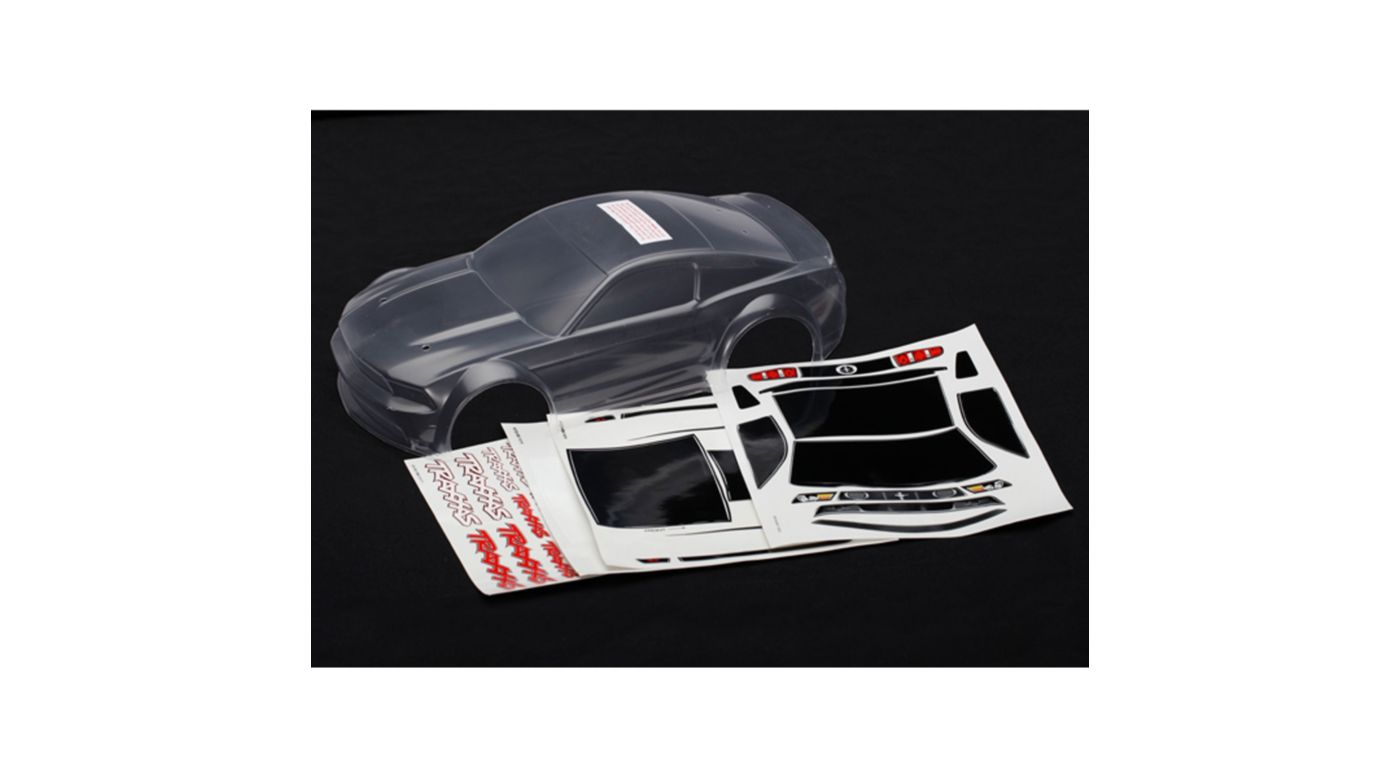 Image for Clear 1/16 Boss 302 Mustang Body from HorizonHobby