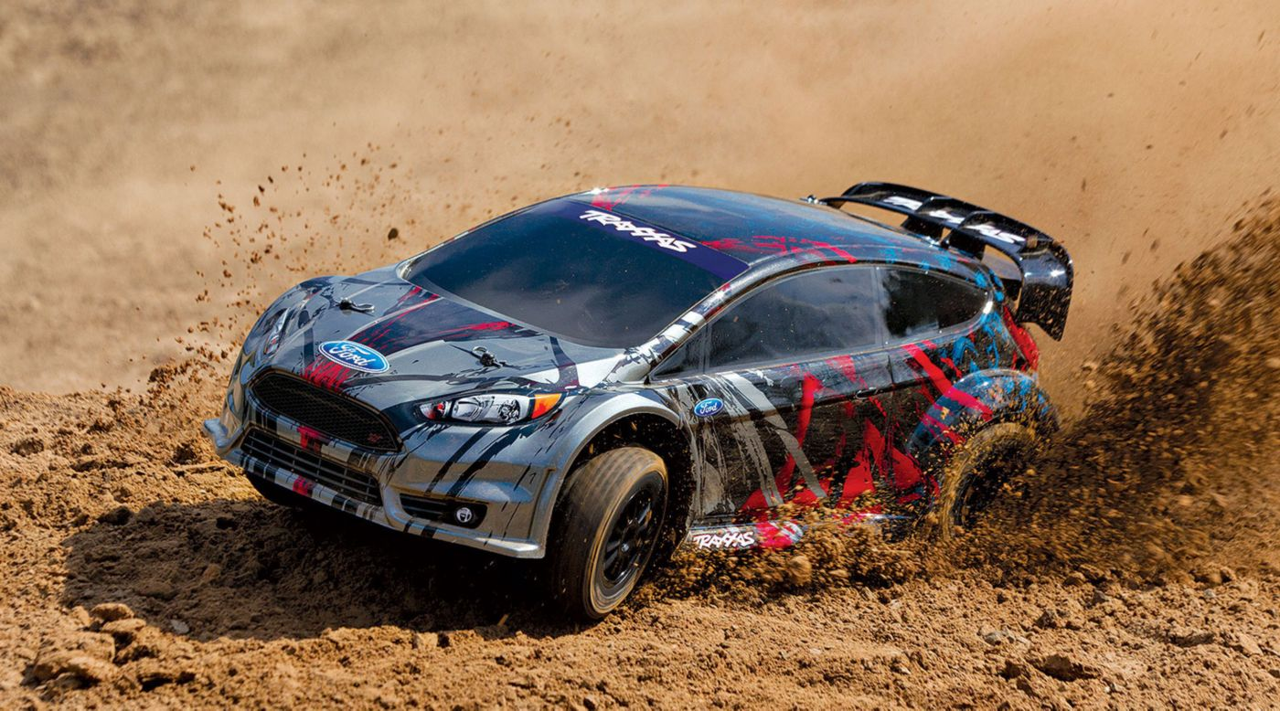Image For   Ford Fiesta St Awd Rally Brushed Rtr From Horizon Hobby