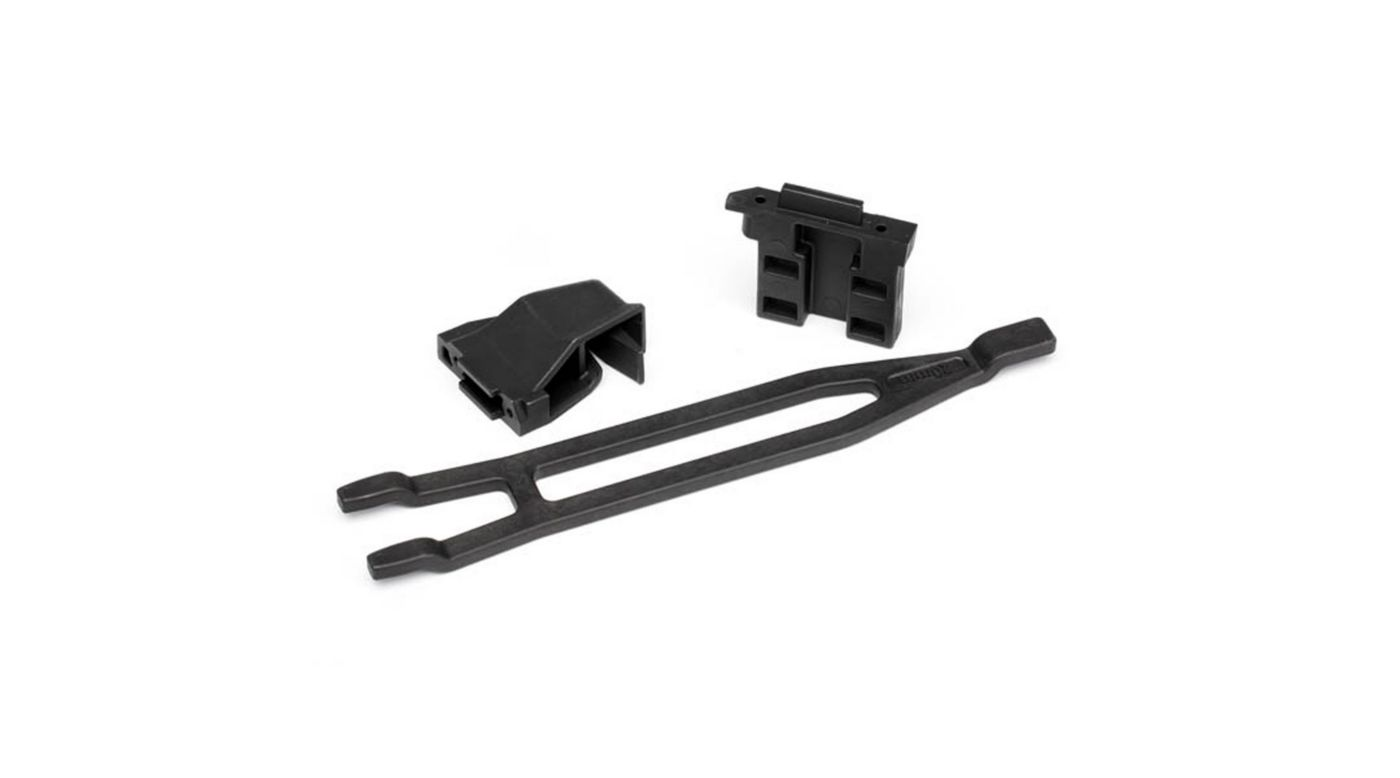 Image for Front & Rear Battery Hold Down, Tall: 1/10 Rally from HorizonHobby