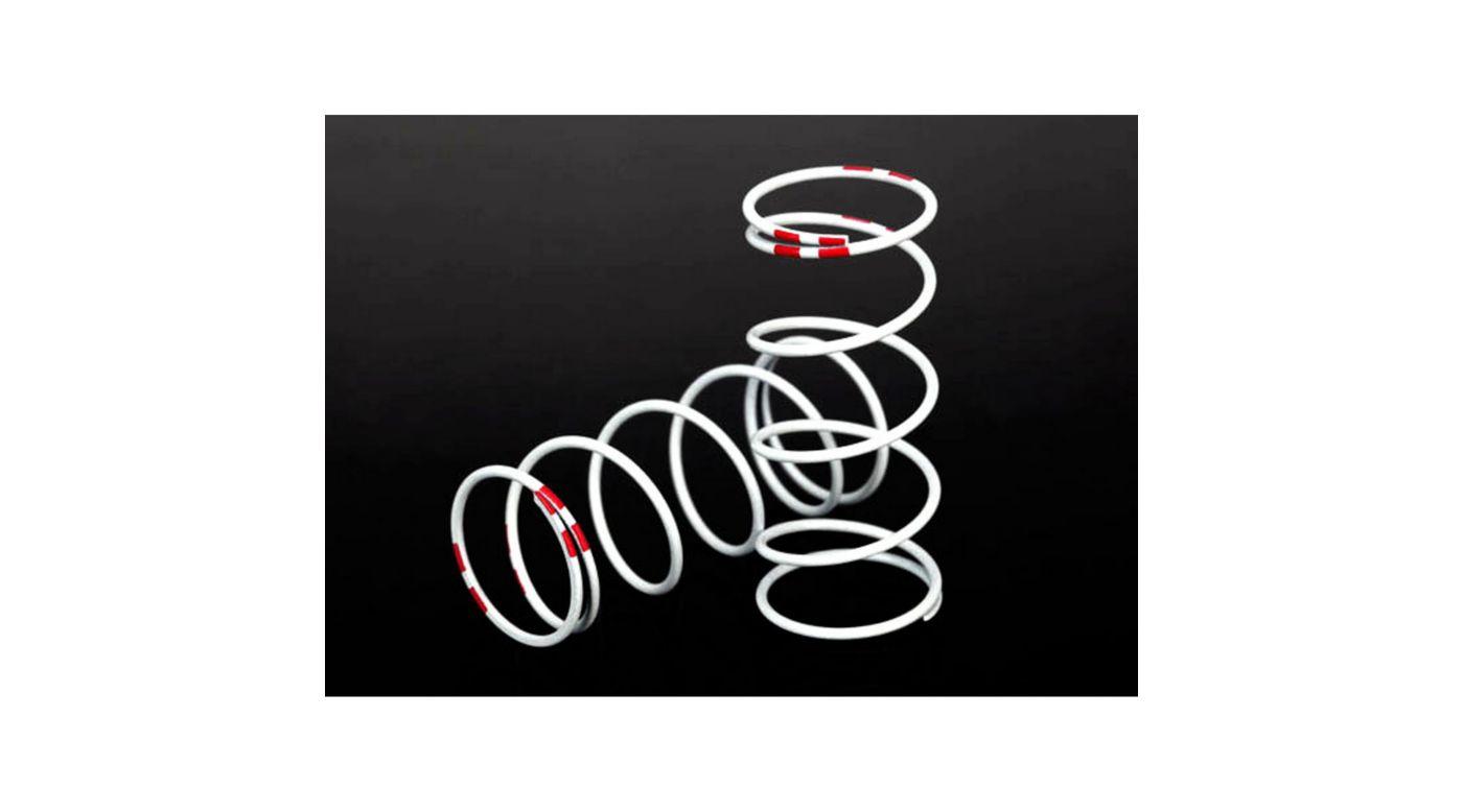 Image for GTR Shock Spring, Long, White (rate .810 Pink) from HorizonHobby