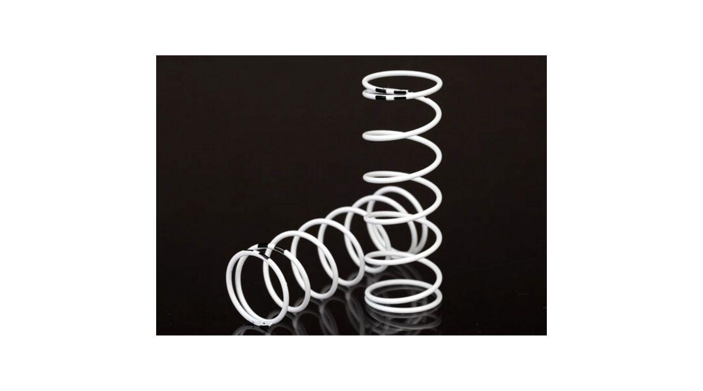 Image for GTR Shock Spring, XXLong, White (rate .874 Black) from HorizonHobby