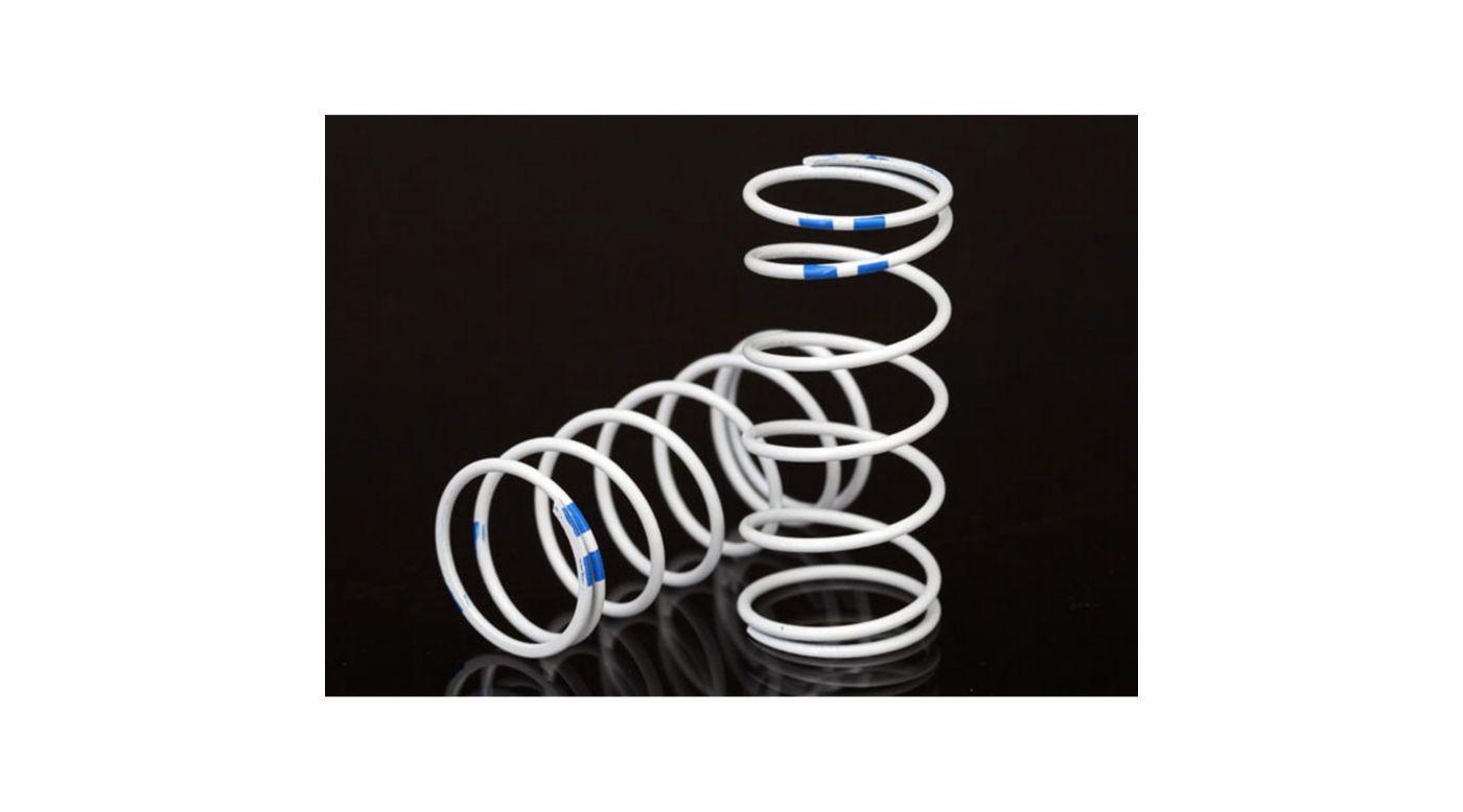 Image for GTR Shock Spring, Long, White (rate .892 Blue) from HorizonHobby