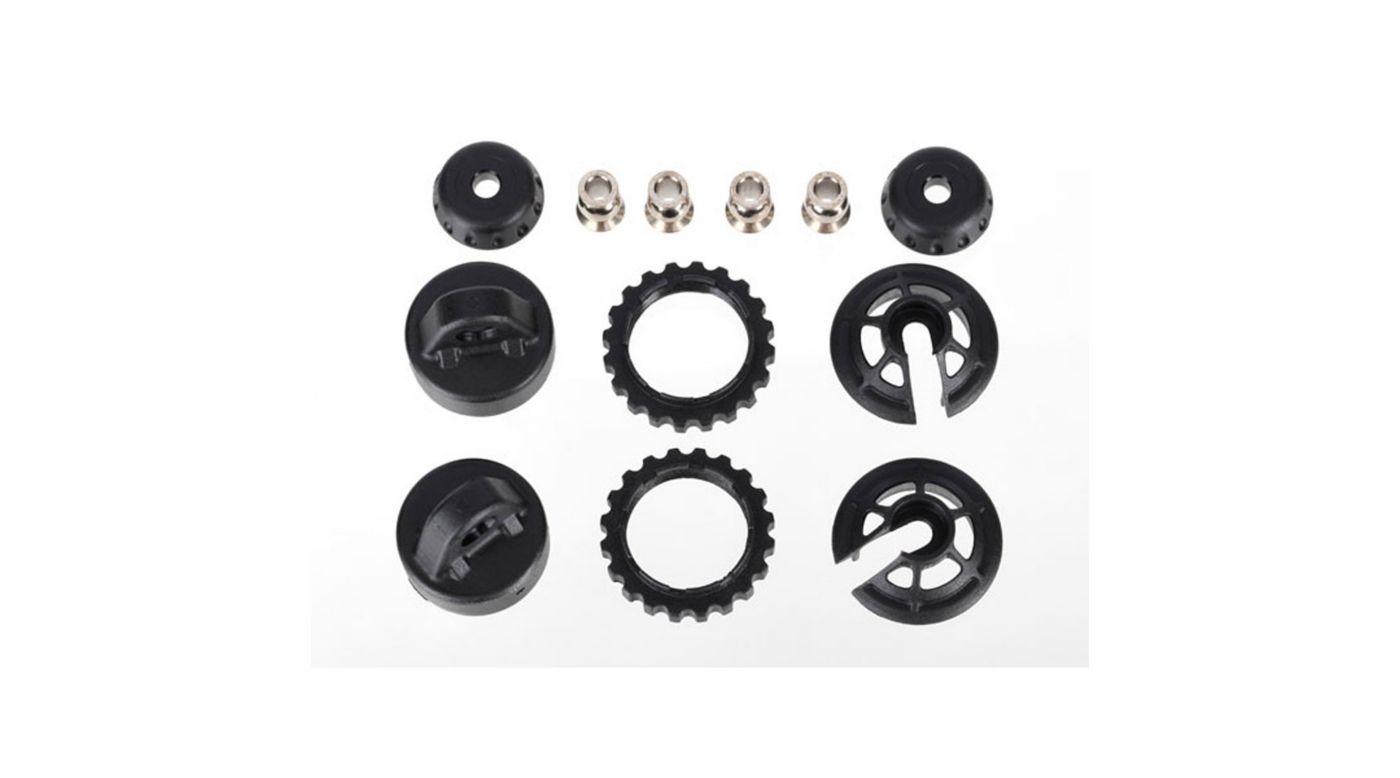 Image for GTR Shock Caps & Spring Retainer, Long/XXLong from HorizonHobby