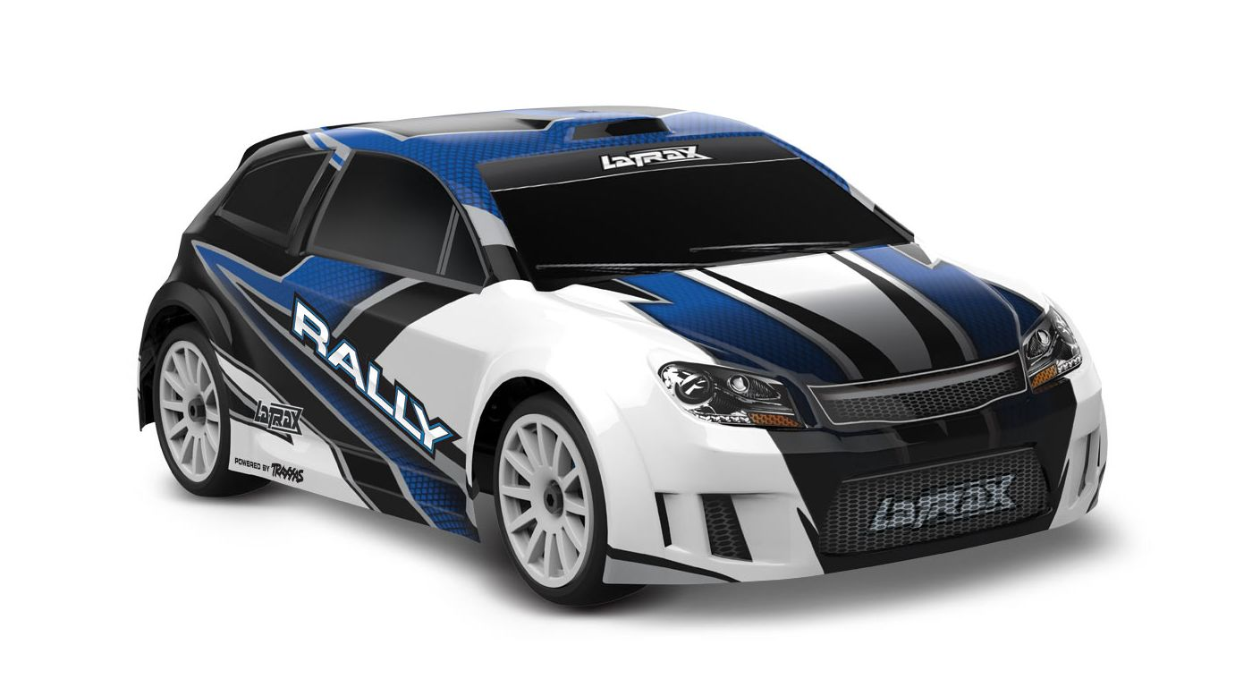 Image for 1/18 LaTrax 4WD Rally Car Brushed RTR, Blue from HorizonHobby