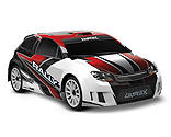 Traxxas - 1/18 LaTrax 4WD Rally Car Brushed RTR, Red