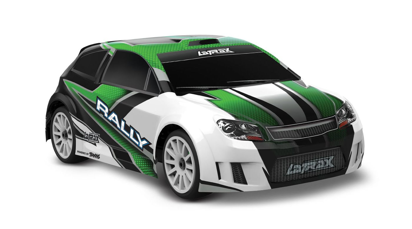 Image for 1/18 LaTrax 4WD Rally Car Brushed RTR, Green from HorizonHobby