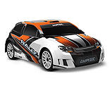 Traxxas - 1/18 LaTrax 4WD Rally Car Brushed RTR, Orange