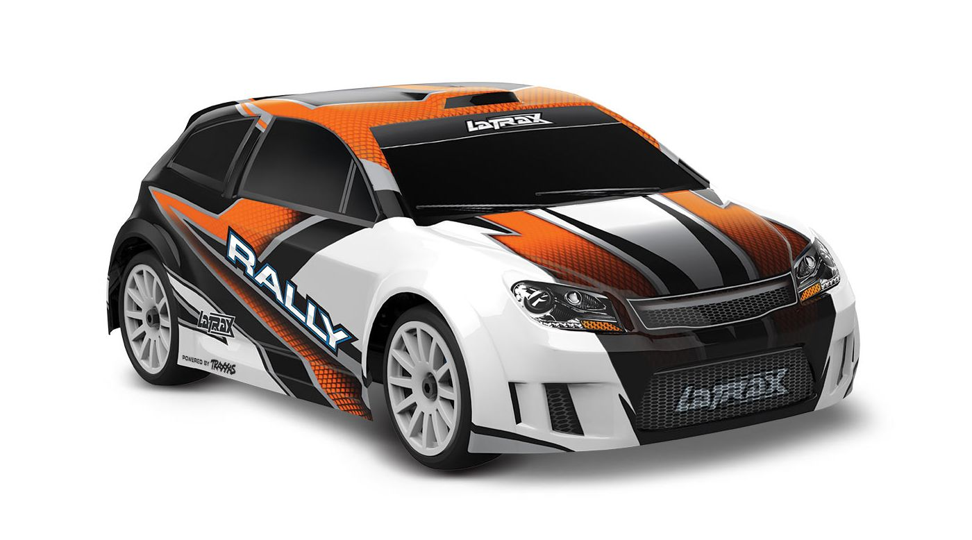 Image for 1/18 LaTrax 4WD Rally Car Brushed RTR, Orange from HorizonHobby