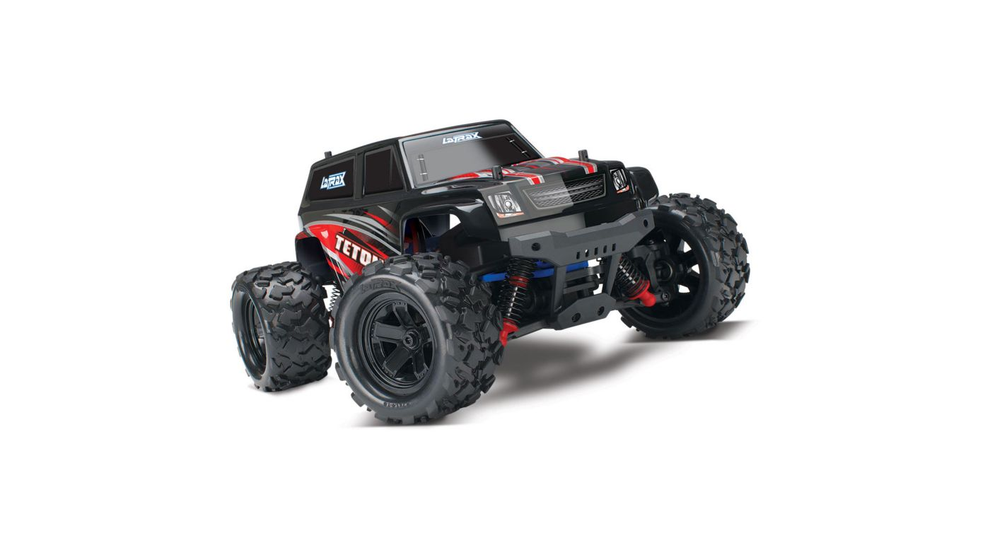 1 18 Latrax Teton 4wd Monster Truck Brushed Rte Red