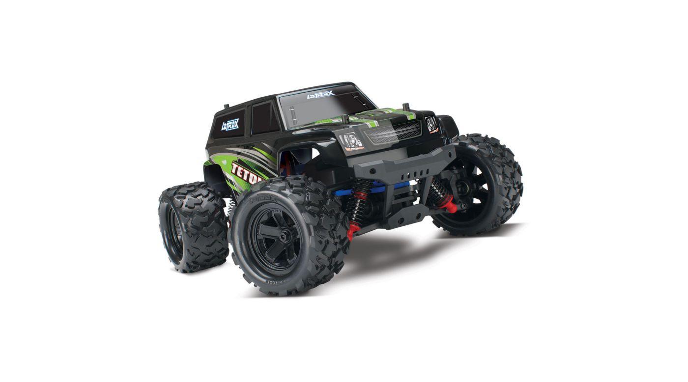 Image for 1/18 LaTrax Teton 4WD Monster Truck Brushed RTE, Green from HorizonHobby