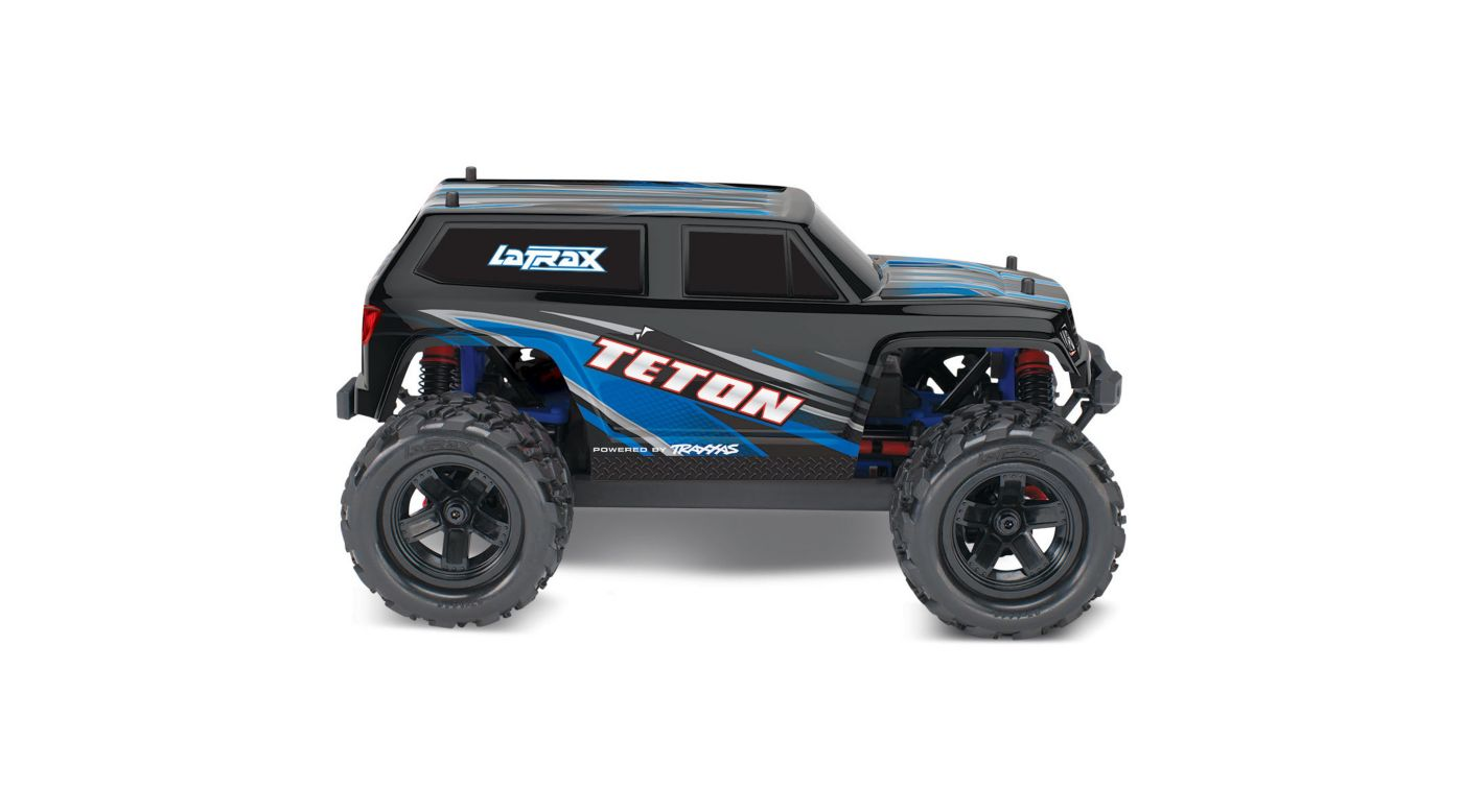 Image for 1/18 Teton 4WD Ready to Explore with Battery, Blue from HorizonHobby