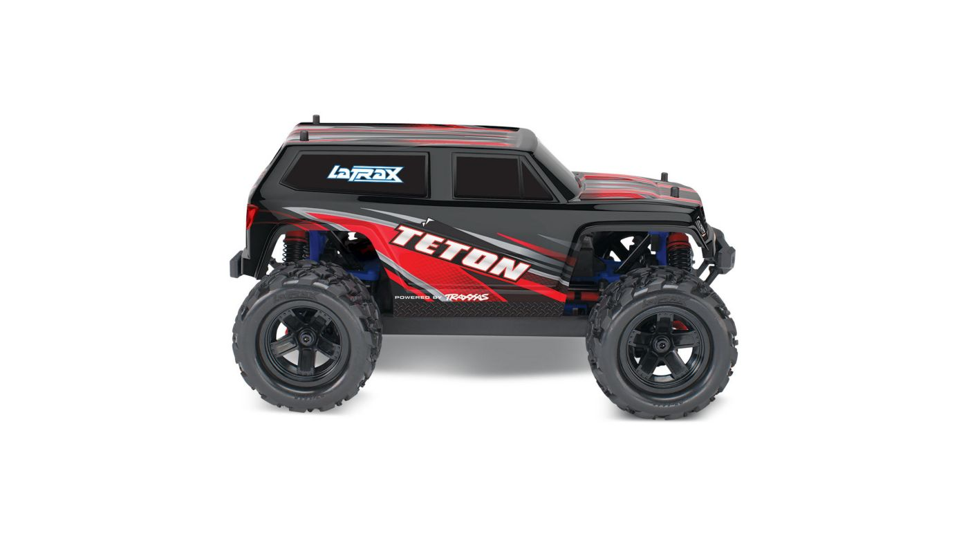 Image for 1/18 Teton 4WD Ready to Explore with Battery, Red from HorizonHobby