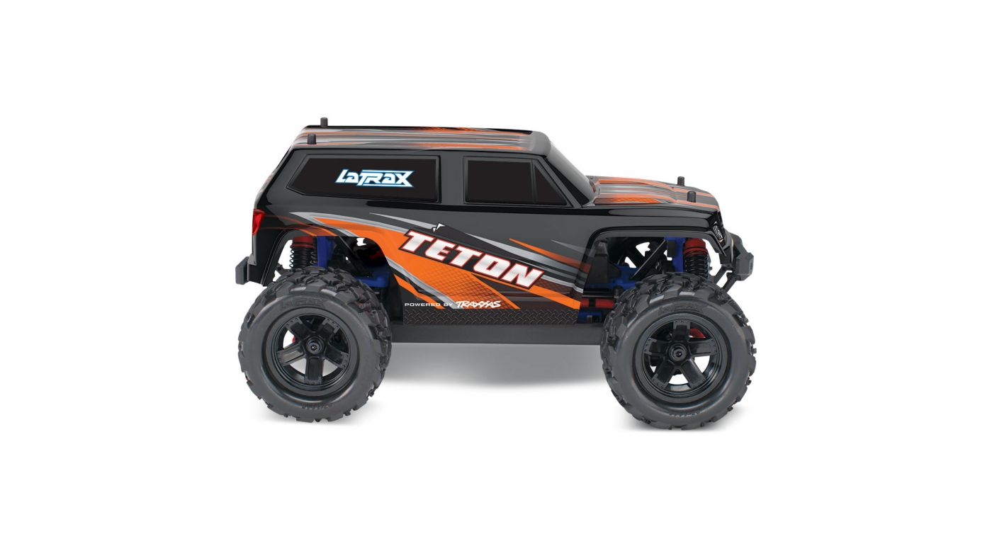 Image for 1/18 Teton 4WD Ready to Explore with Battery, Orange from HorizonHobby