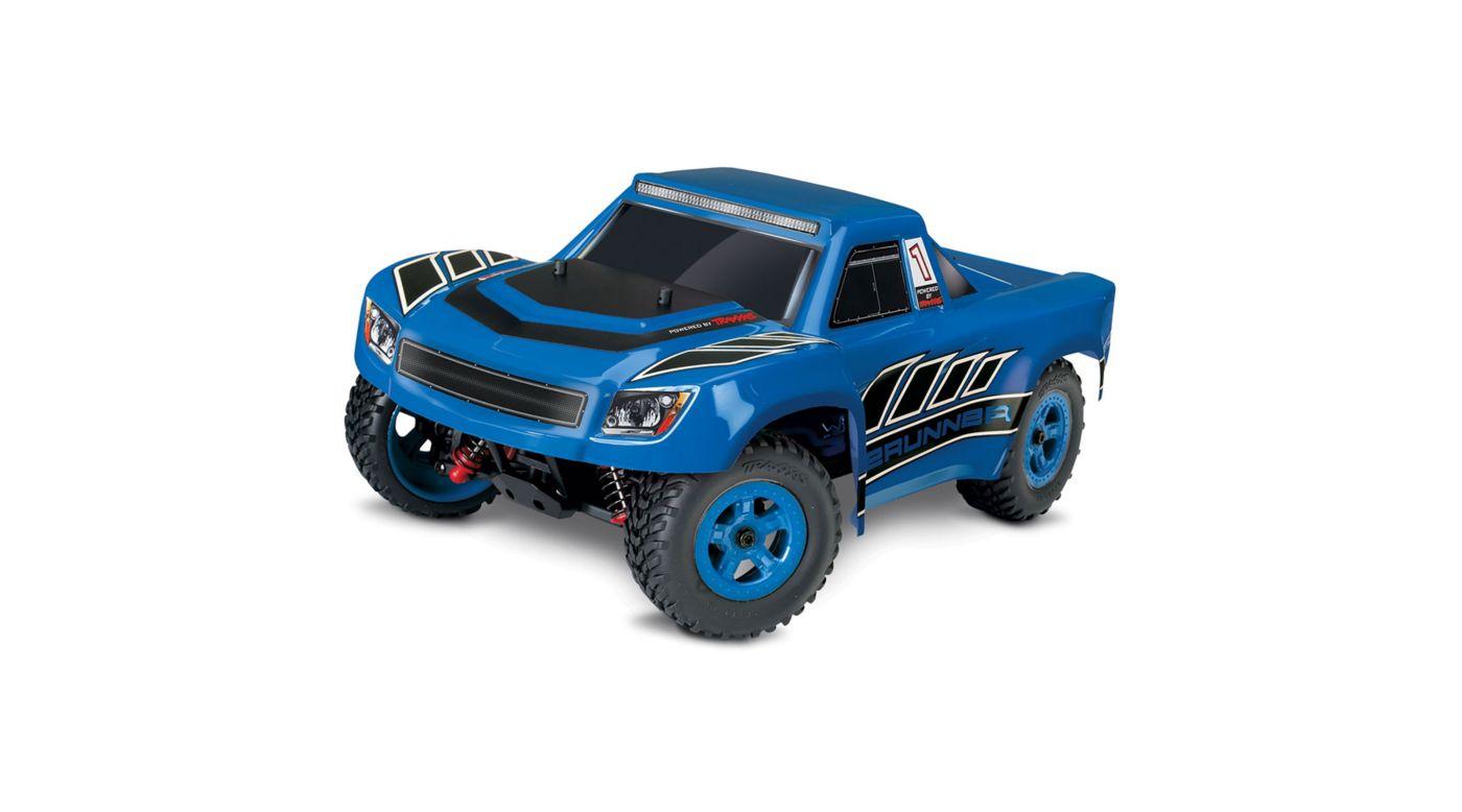 Image for 1/18 LaTrax Desert Prerunner 4WD Truck Brushed RTR, Blue from Horizon Hobby