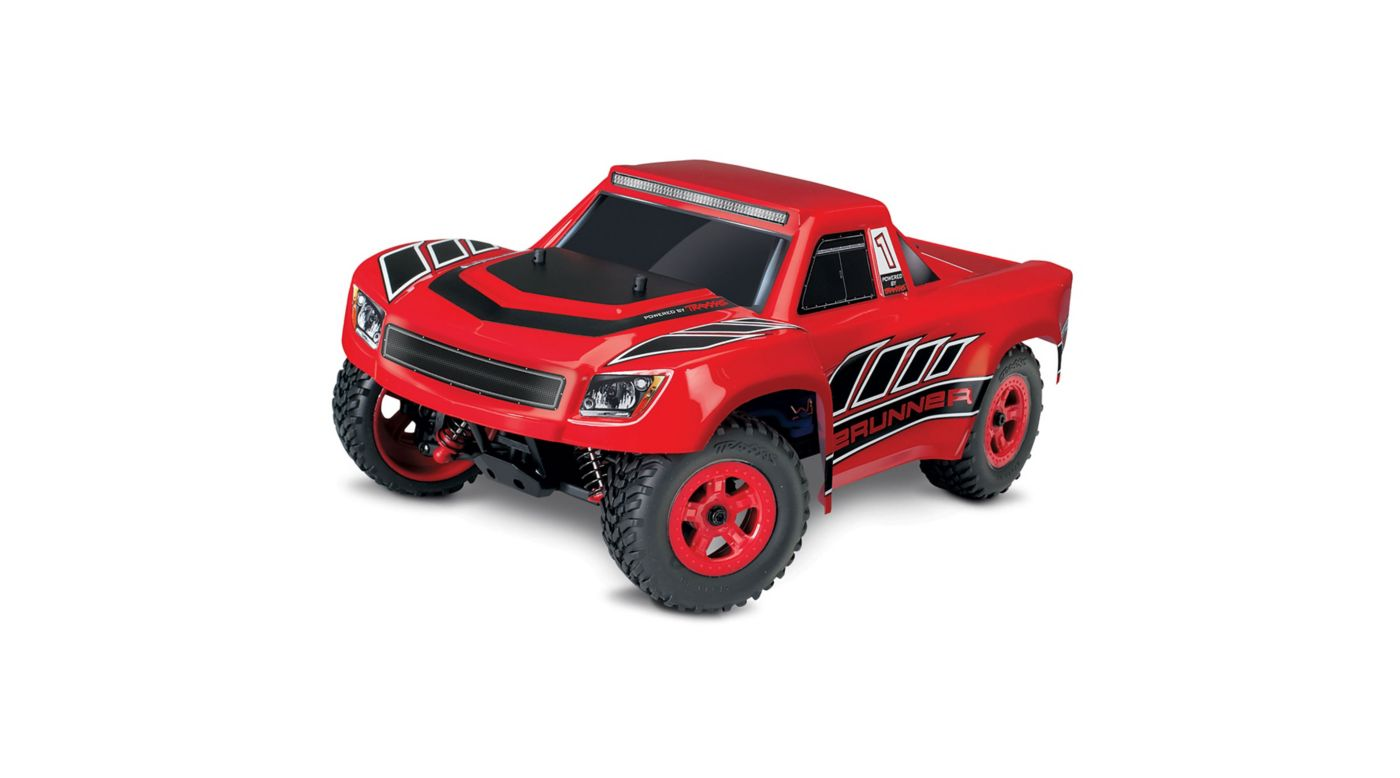 Image for 1/18 LaTrax Desert Prerunner 4WD Electric Truck Brushed RTR, Red from HorizonHobby