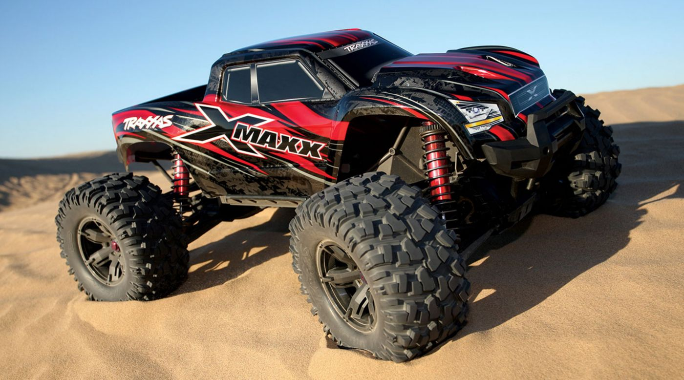 Image for 1/6 X-Maxx 4WD Monster Truck Brushless RTR with TSM, Red from HorizonHobby