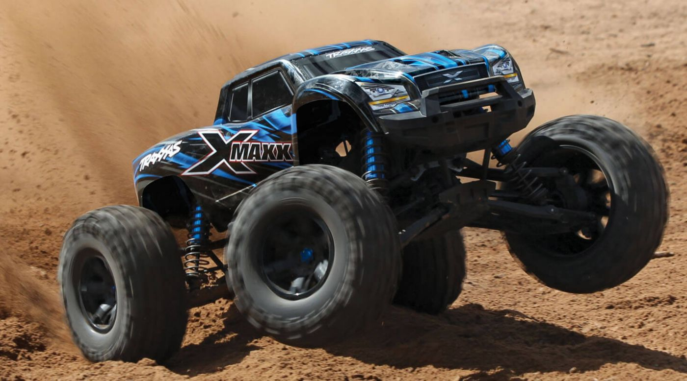 Image for 1/6 X-Maxx 4WD Monster Truck Brushless RTR with TSM, Blue from HorizonHobby