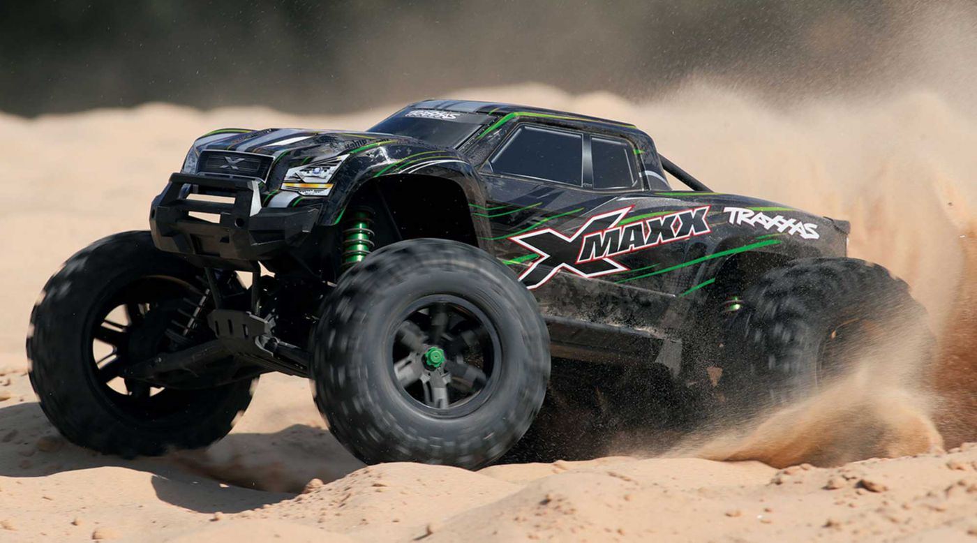 Image for 1/6 X-Maxx 4WD Monster Truck Brushless RTR with TSM, Green from HorizonHobby