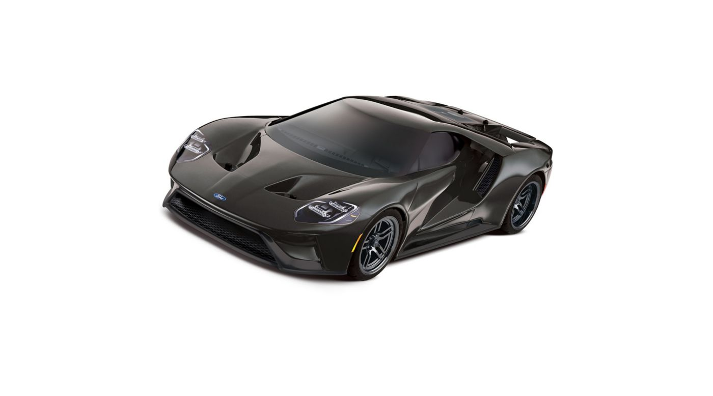 Image for 1/10 Ford GT AWD 4-TEC 2.0 Brushed RTR with TSM, Liquid Black from HorizonHobby