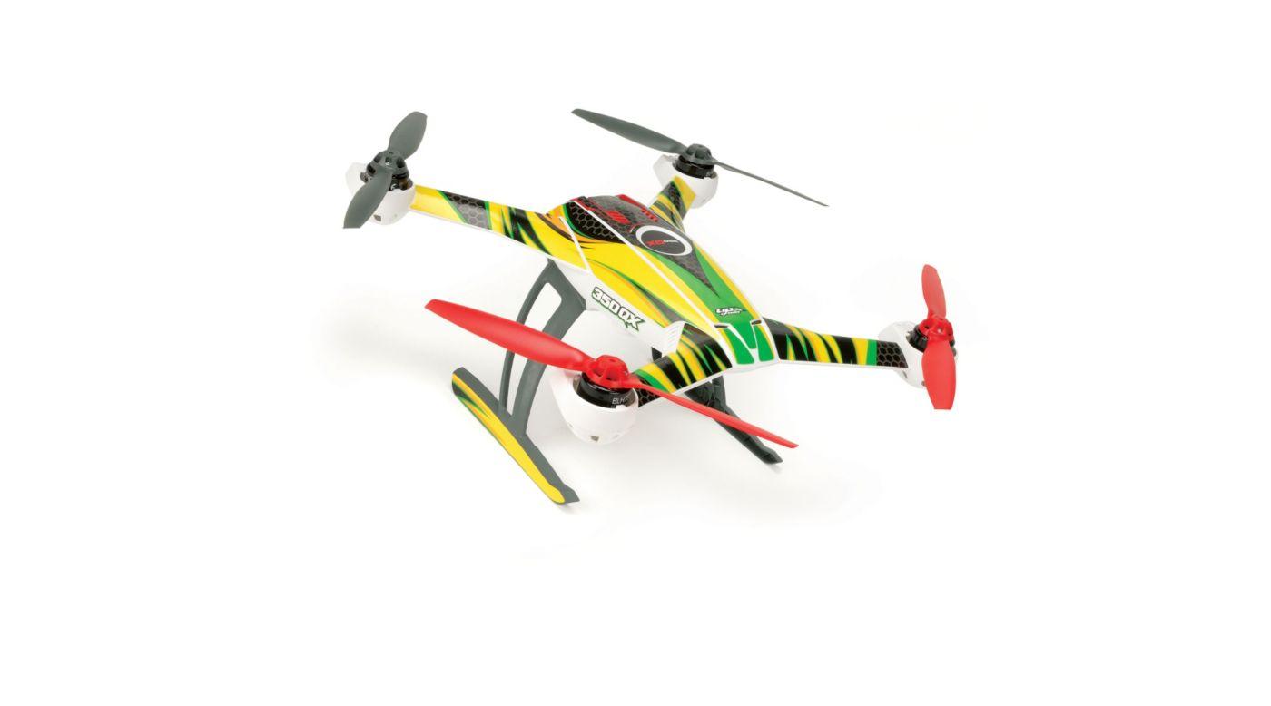 Image for 350 QX Skin Jinx: Green/Yellow from HorizonHobby