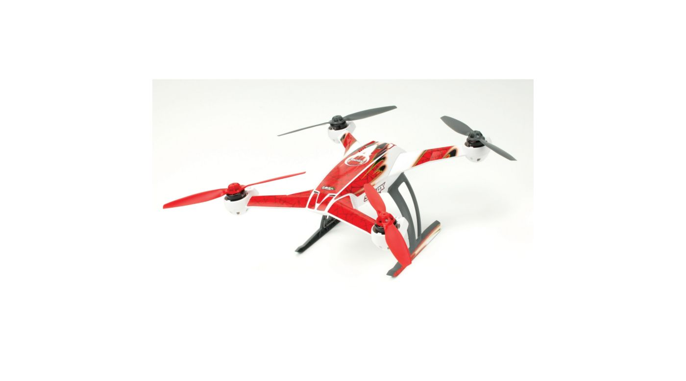 Image for DNA Skin, Red: Blade 350 QX from HorizonHobby