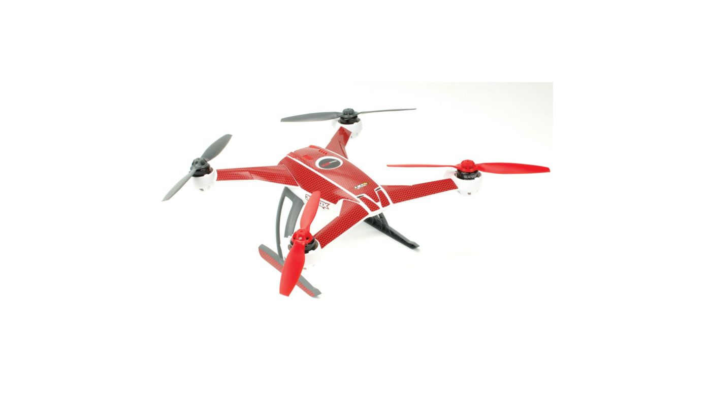Image for Carbon Skin, Red: Blade 350 QX from HorizonHobby