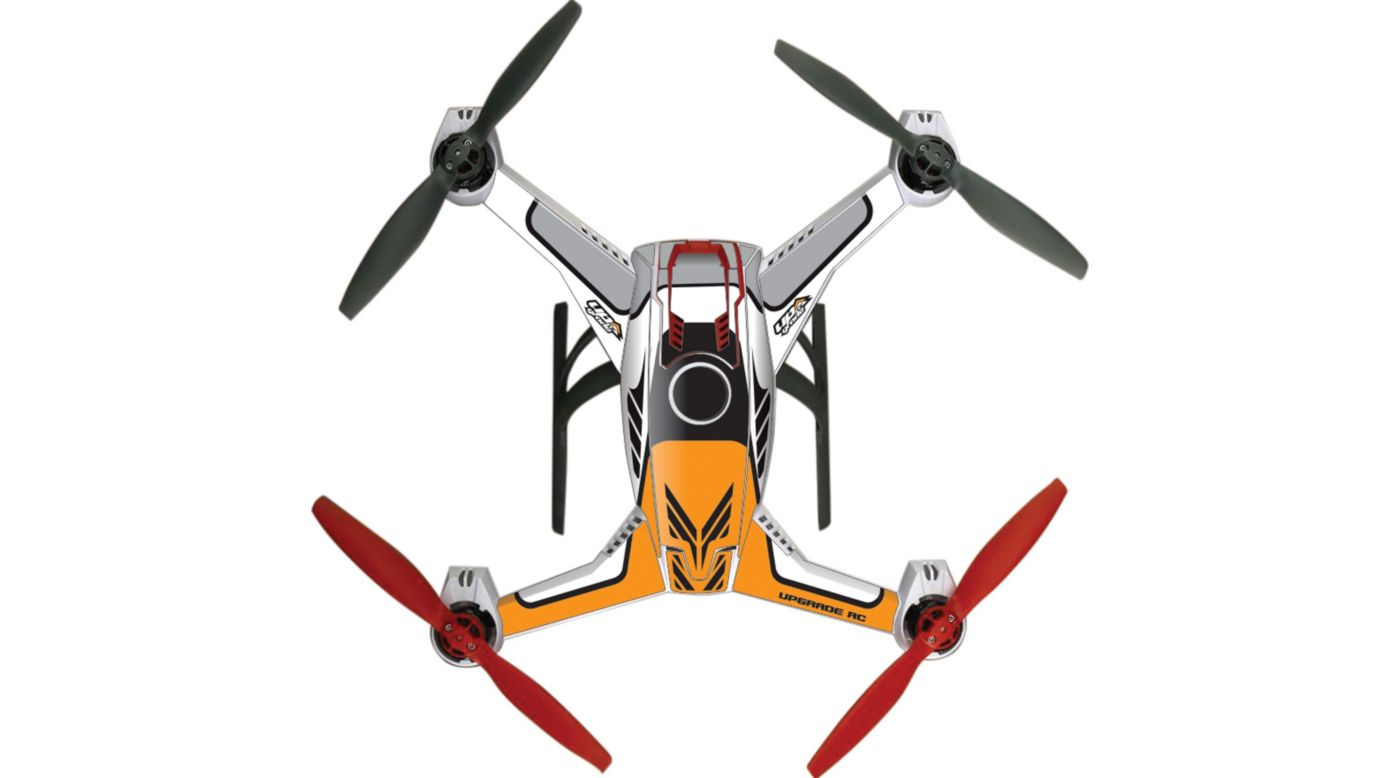 Image for Upgrade Blade 350 QX2 AP Hyper Skins, Project Org from HorizonHobby