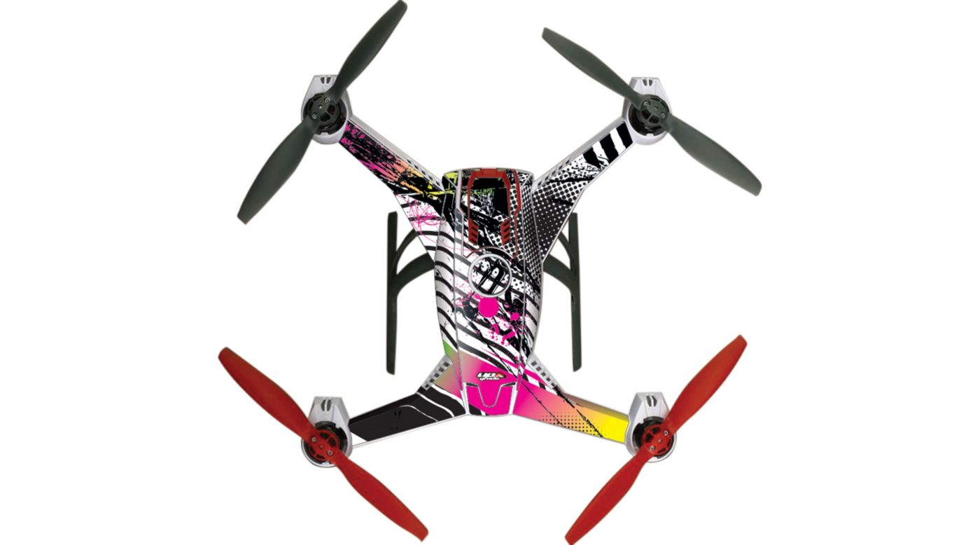 Image for Upgrade Blade 350 QX2 AP Hyper Skins, Punk from HorizonHobby