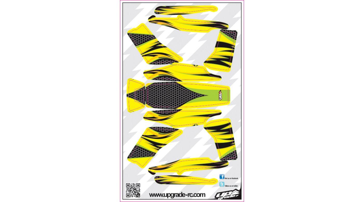 Image for Jinx Skin, Green/Yellow: Blade 200 QX from HorizonHobby